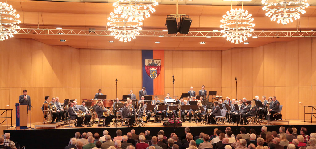 Herbstkonzert 2014 im Leonhard-Gläser-Saal der Siegerlandhalle